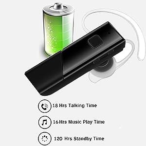long battery life headphone
