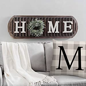 summer fall winter grey white blooms quote wreath lettering holiday decoration vintage