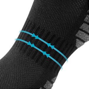 mens trainer socks men's socks mens black socks mens running socks trainer socks for men 9-12 black