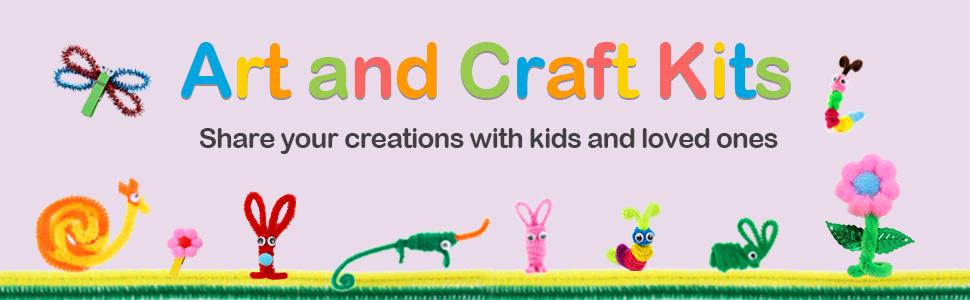 Art and Craft Supplies Kits