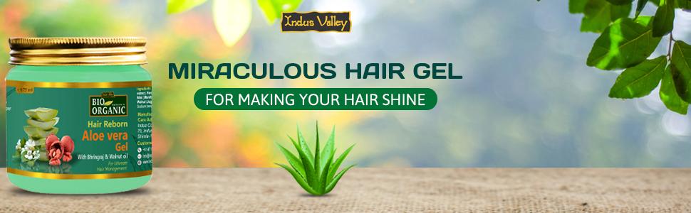 Miraculous hair gel for making your hair Shine