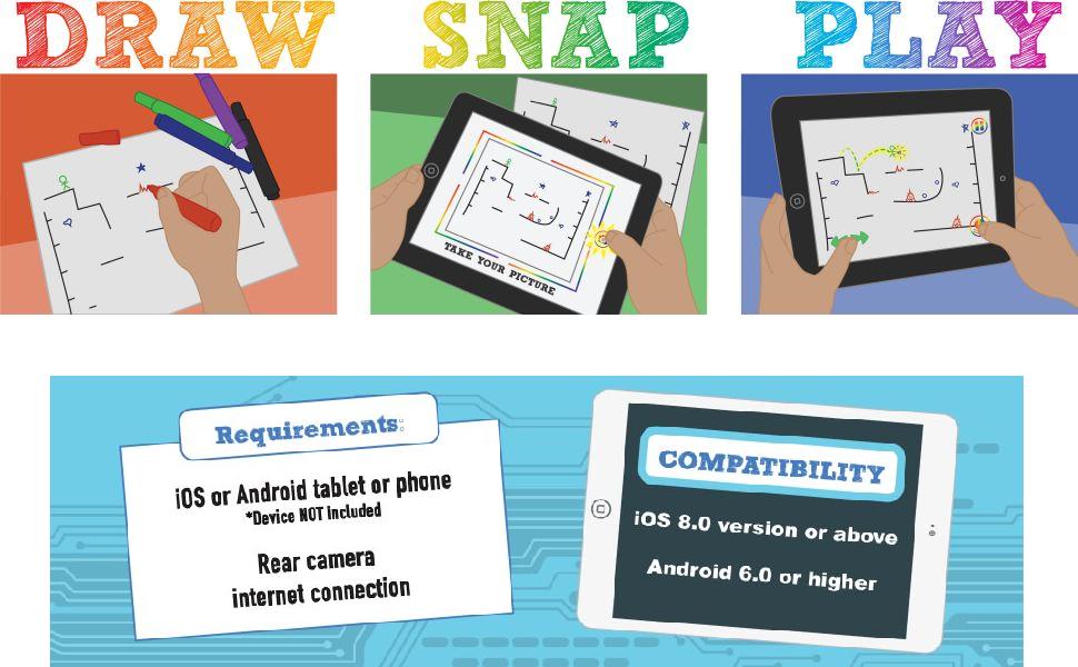 draw snap play