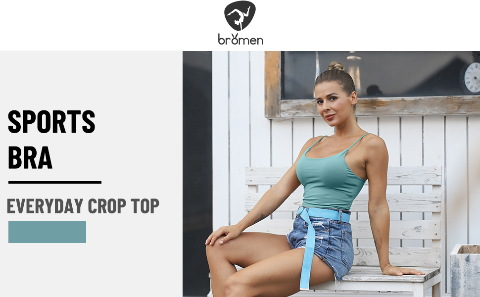 Sports Bra & Everyday Crop Top