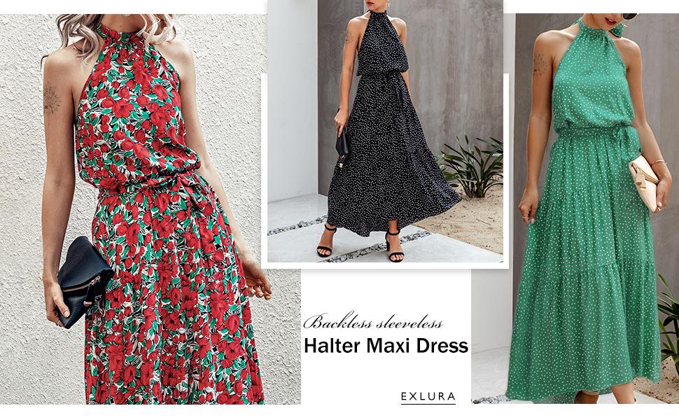 Sonmer Womens Bohemia Short Sleeve Dress Summer Casual Sunflower Print Swing Dress Maxi Dress