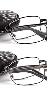 double take foldable reading glasses are made for the on the go reader