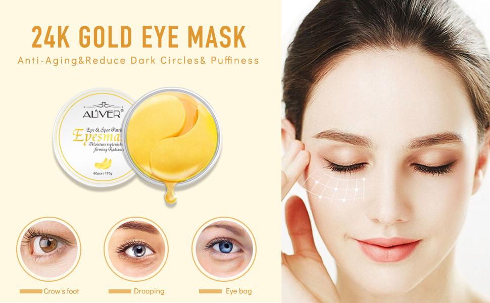 24k under eye gel pad