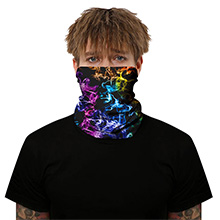 12 in 1 Multifunctional Headwear Face Mask Headband Neck Gaiter