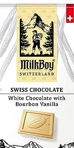 White Chocolate with Bourbon Vanilla