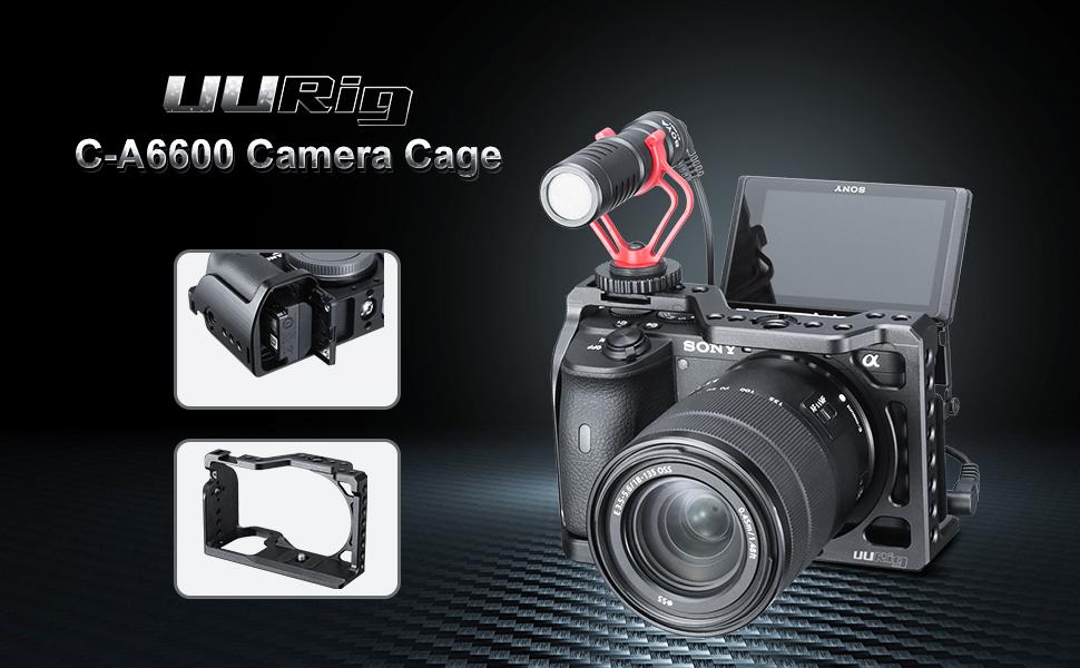 Sony a6600 camera cage