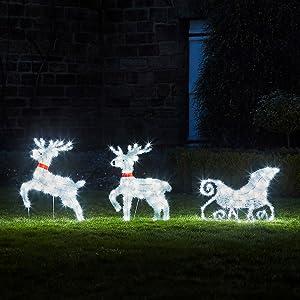 Christmas yard decor,christmas yard decoration,christmas lawn decoration,outdoor xmas decoration
