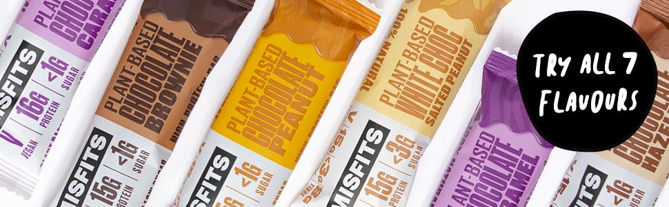 vegan protein bar low sugar and calorie high protein dairy gluten free