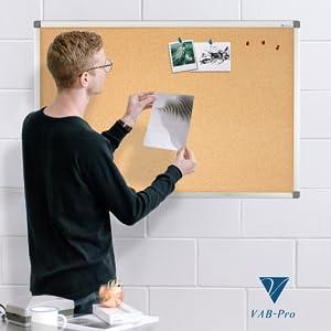 cork boards, bulletin boards, pin boards