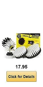 White Drill Brush