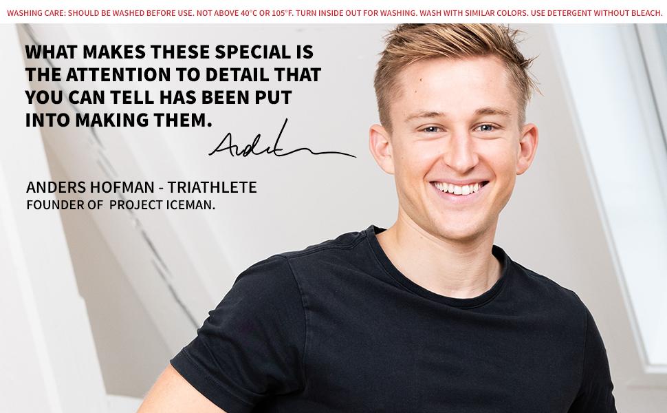Danish Endurance Men's Underwear Ambassador Anders Hofman