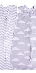 baby sleeping sacks cloud