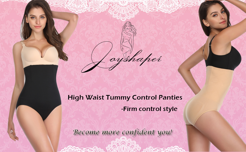 Shapewear Briefs for Women High Waist Tummy Control