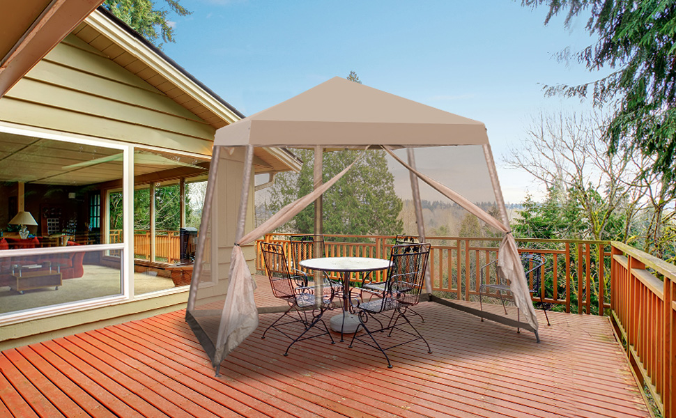 EAGLE PEAK Canopy with Netting