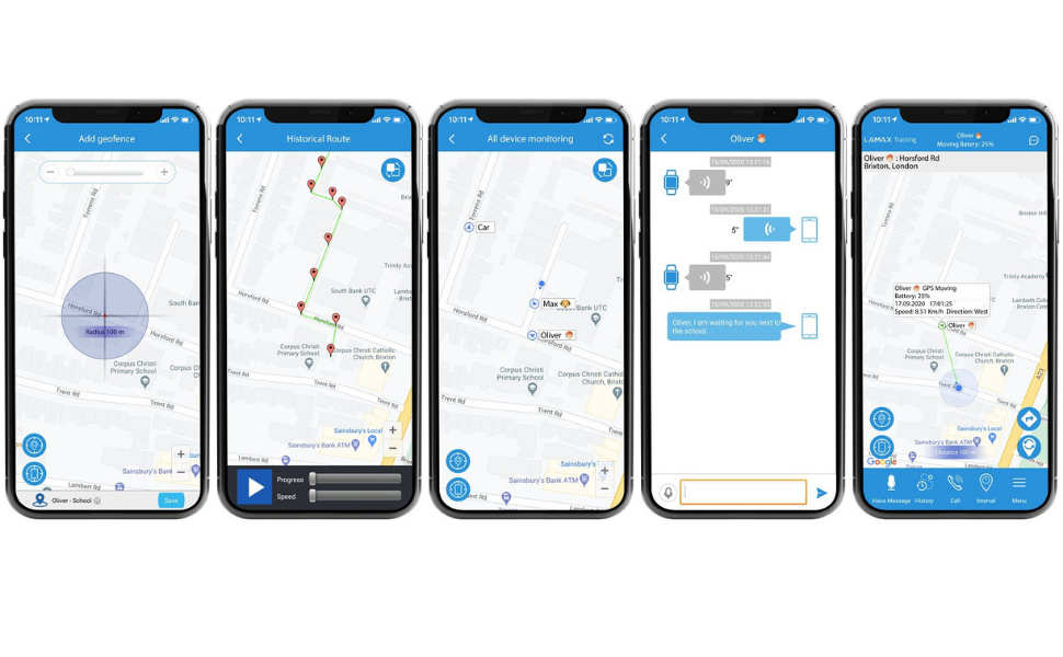 LAMAX GPS Locator app