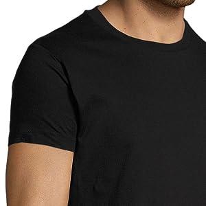 t shirt noir homme fashion moto motard