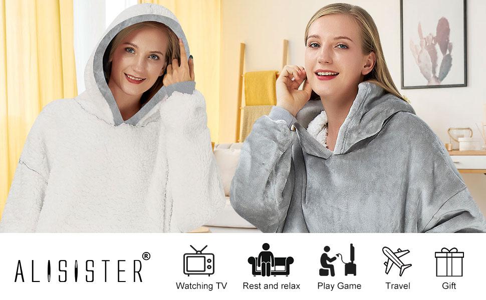 blanket hoodie women