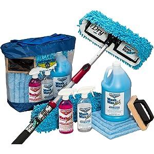 wash wax mop kit