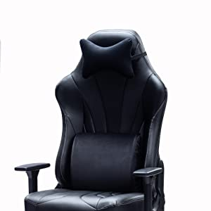 1  Blue Whale Super Big and Tall Gaming Chair with Massage Lumbar Support,Sedentary Reminder,Metal Base and Aluminum Alloy Armrest High Back PC Racing Office Computer Desk Ergonomic Swivel Task Chair f7c68017 baac 495f 847c d7050a6b5999