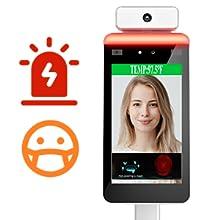 facial recognition temperature scanner temperature scanner stand automatic temperature scanner