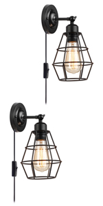 2-pack wall sconce