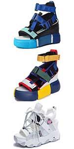 wedge sandals sports sandals