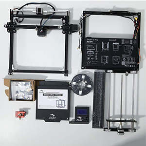 Creality Ender 5 Pro 3D Printer Upgrade Silent Mother Board Metal Feeder Extruder and Capricorn