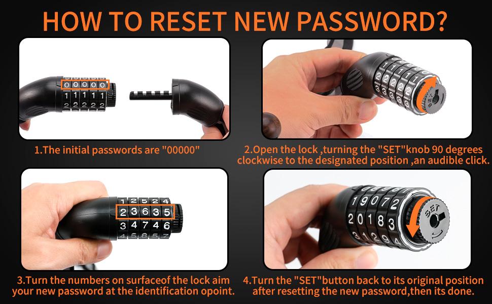 digit chain lock