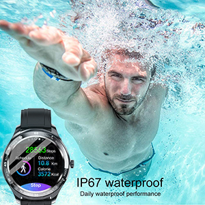 smart watch  Smart Watch, Fitness Tracker with Heart Rate Monitor, IP68 Waterproof Smartwatch 1.3″ Touch Screen, Activity Tracker Step Counter Sleep Monitor Message Call Pedometer for Women and Men f7d47664 2349 40b9 9d5a 438085eb15e1