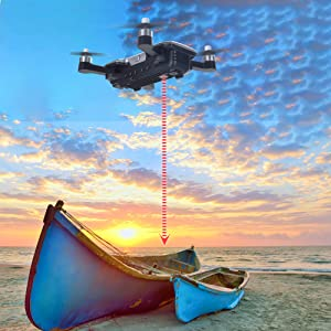 Flashandfocus.com f7db5a07-b0f2-4134-b10f-d273f0cded14.__CR0,0,2000,2000_PT0_SX300_V1___ Contixo F30 Drone for Kids & Adults WiFi 4K UHD Camera and GPS, FPV Quadcopter for Beginners, Foldable mini drone…