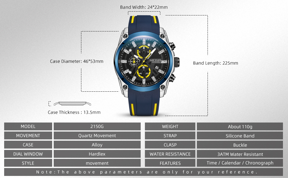 chronograph watches for men