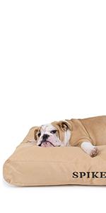 tough rectangle nesting dog bed
