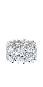 art deco bridal bracelet for woman