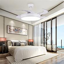 ventilateur plafond avec lumiere