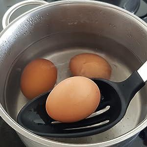 cooking spoons, serving spoons, soup ladle, pasta fork, pasta server, cooking skimmer, strainer,