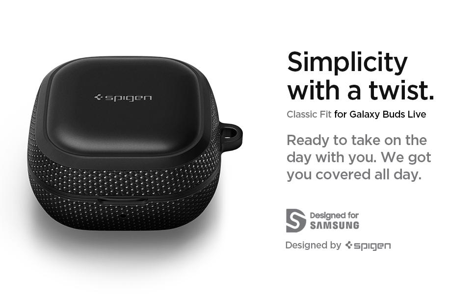 Spigen Classic Fit Designed For Galaxy Buds Live Case Elektronik