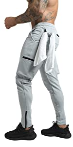 workout cargo pants for men