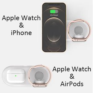 ipad iphone apple watch charging station