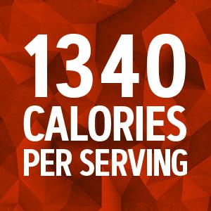1340 Calories Per Serving