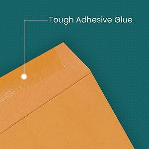 Tough adhesive glue