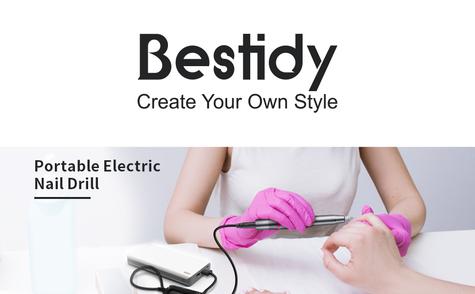 Electric Nail Drill Kit