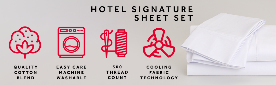 Marriott Hotel Signature Sheet Set