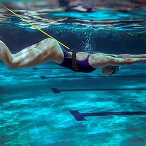 stationary swim trainer