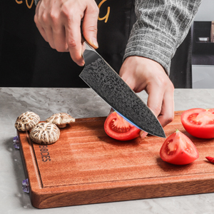 Well-Balance kitchen knives