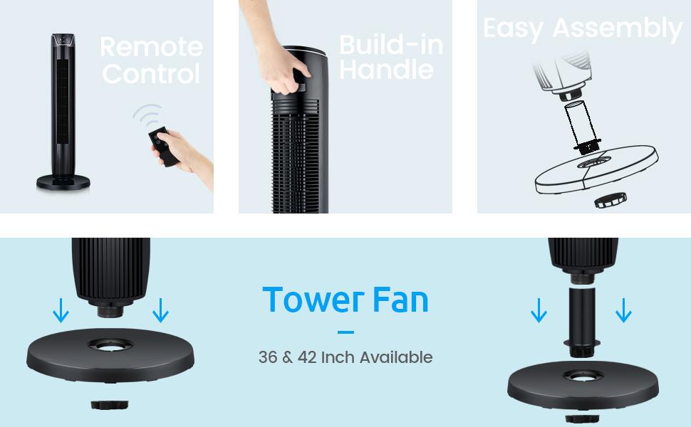 42 inch tower fan