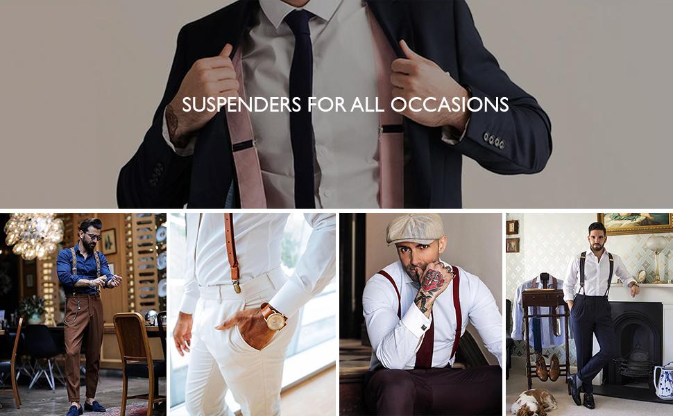 work suspenders for men dress suspenders for men