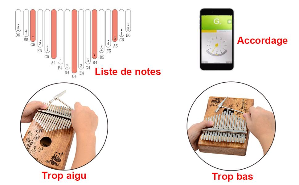 how to tune kalimba